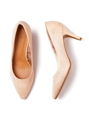 FOREVER 21 Women Nude-Coloured Solid Pumps