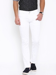 Men White Jeans Jackets - Buy Men White Jeans Jackets online in India