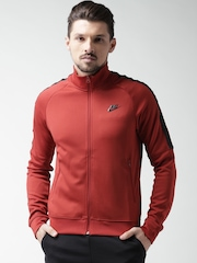 Nike Rust Orange Tribute Track Jacket