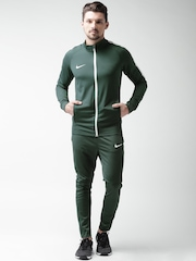 Nike Olive Green As M Nk Dry Acdmy Tracksuit