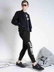 Eco Unitd Black Track Pants