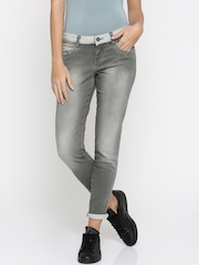 Wrangler Women Grey Skinny Fit Jeans