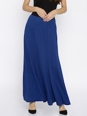 AND by Anita Dongre Blue Maxi Skirt