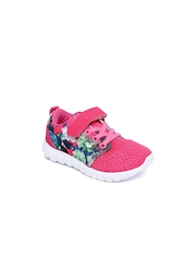 Juniors by Lifestyle Girls Pink Printed Sneakers