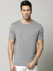 Marks & Spencer Pack of 2 Grey Melange Heatgen Thermal T-shirts
