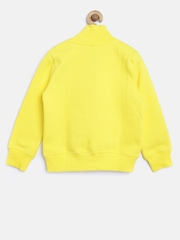 United Colors of Benetton Boys Yellow Sweatshirt