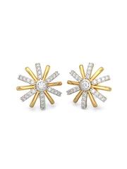 BlueStone 1.756 g 14-Karat Gold The Lixue Earrings with Diamond