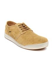 Woodland Men Tan Sneakers
