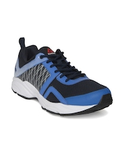 Reebok Men Navy & White Smooth Flyer Running Shoes