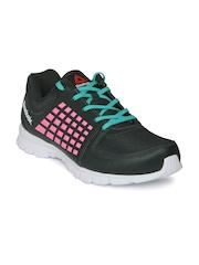 Reebok Women Charcoal Grey & Pink Electrify Speed Running Shoes