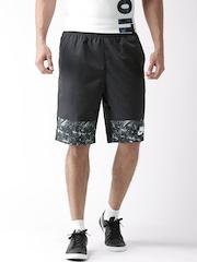Nike Men Black AS NSW WVN AOP FLOW Printed Sports Shorts