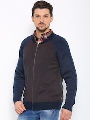 Indian Terrain Men Navy Cardigan