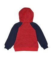 mothercare Boys Red & Navy Sweatshirt