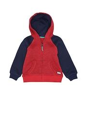 mothercare Boys Red & Navy Sweatshirt