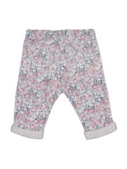 mothercare Girls Grey Floral Print Pyjamas 5021467738027