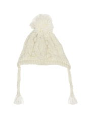 mothercare Girls Cream-Coloured Beanie