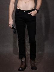 Roadster Men Black Skinny Fit Mid-Rise Clean Look Jeans