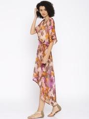 The Kaftan Company Multicoloured Printed Cover-Up Dress RW_HOLIDY003