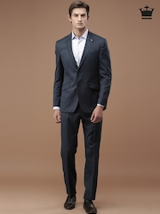 Louis Philippe Navy Ultra Fit Formal Suit