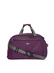 Pronto Unisex Purple Sweden 55 Trolley Duffel Bag