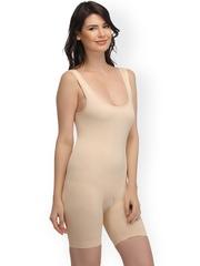 Clovia Beige Seamless Body Shapewear SW0002P02S