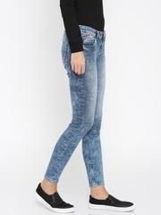 Flying Machine Women Blue Twiggy Fit Jeans