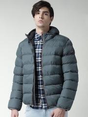 CAT Grey Williamsburg Puffer Jacket with Detachable Hood