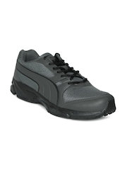 Puma Men Charcoal Grey Strike Fashion II Running Shoes