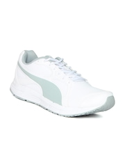 Puma Men White Axis V4 SL IDP Running Shoes