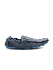 Carlton London Men Navy Solid Loafers