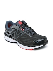 New Balance Men Black M680RC3 Running Shoes