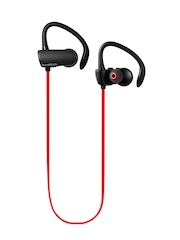 SoundPEATS Red & Black Sweatproof Ear Buds