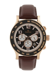 maxima Attivo Men Black Chronograph Dial Watch 32971LMGR