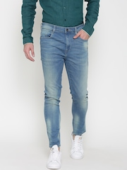 United Colors of Benetton Men Blue Slim Fit Low-Rise Clean Look Jeans