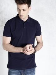 Ecko Unltd Men Navy Blue Polo T-Shirt