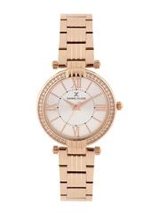 Daniel Klein Premium Women Silver-Toned Dial Watch DK11138-2