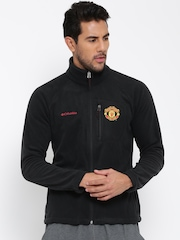 Columbia Black Fast Trek II Manchester United F.C. Fleece Jacket
