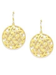 Fabindia Anusuya Gold-Toned Silver Drop Earrings