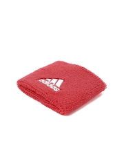 Adidas Unisex Set of 2 Red & Navy Ten WB S Wristbands
