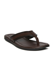 Bata Men Brown Alex Sandals