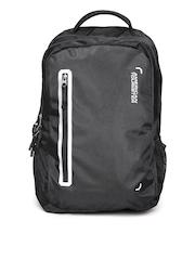 AMERICAN TOURISTER Unisex Black Laptop Backpack