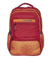 AMERICAN TOURISTER Unisex Red 2016 Hoola 2 Printed Backpack