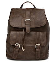 DressBerry Brown Backpack
