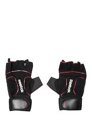Reebok Unisex Black Training Lifting Gloves