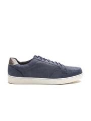 Carlton London Men Navy Solid Sneakers