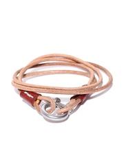 Roadster Brown Dual-Stranded Wrap-Around Bracelet