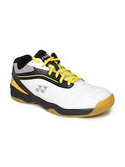 YONEX Men White SHB 65R Badminton Shoes