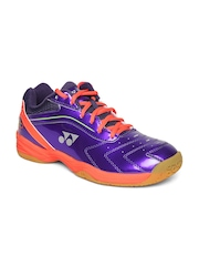 YONEX Men Purple SHB 65R Badminton Shoes