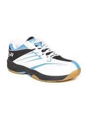 YONEX Men White Comfort Advance Badminton Shoes