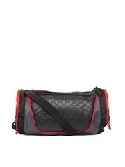 F Gear Unisex Black Gym Duffel Bag